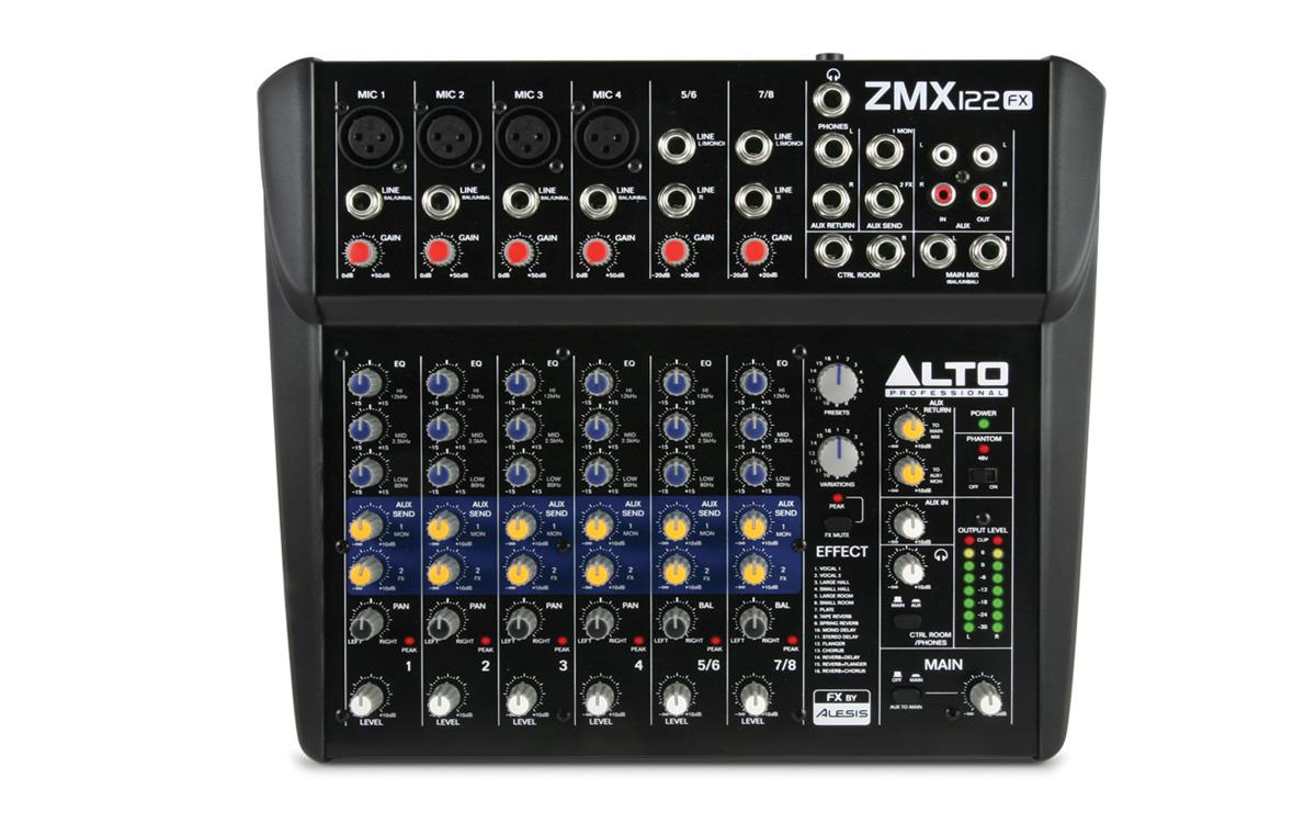 ALTO Zephyr ZMX122FX 2