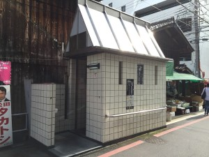 錦小路東洞院東公衆トイレ