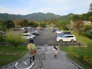 福知山三段池動物園駐車場