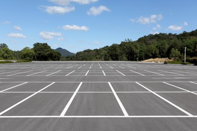 穴場駐車場