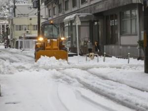 雪かきやり方