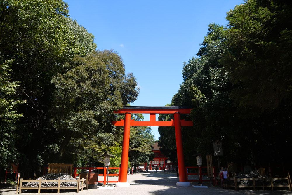下賀茂神社周辺の穴場駐車場
