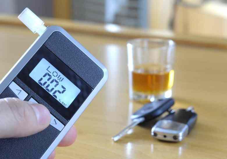 dirigir alcolizado bafometro