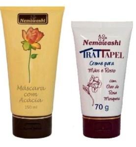 %name Como Tirar Manchas do Rosto e Peeling Facial Máscara Com Acácia do Senegal e Creme Com Rosa Mosqueta