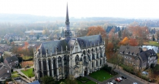 <h5>Basilica - aerial view</h5>