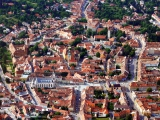 <h5>Aerial view of Köszeg</h5>