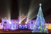 <h5>Rokiškis Manor by night</h5>