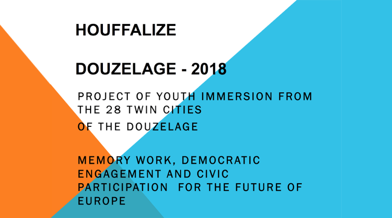 Invitation to participate in the project of Houffalize 2018