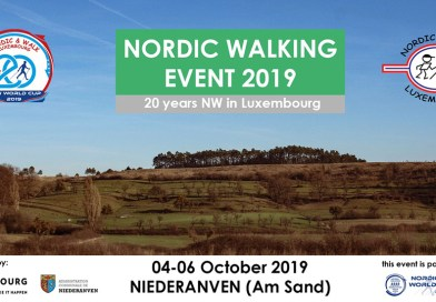 Register now for the 20th Nordic Walking Event in Niederanven!