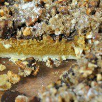 Pumpkin Pecan Pie Topping