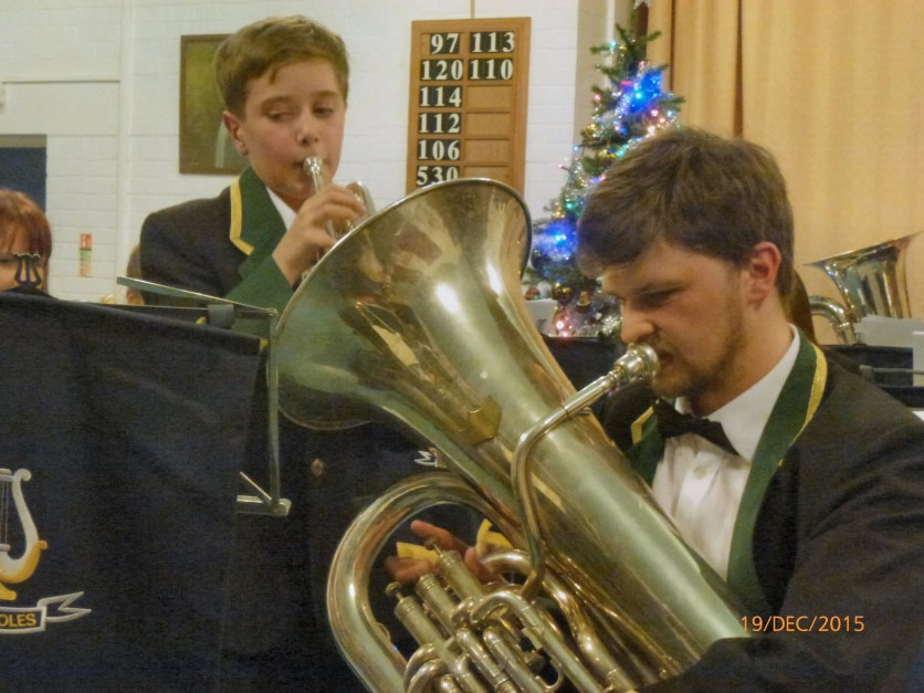 Joshua Youd performing Silent Night with Jay Mellor