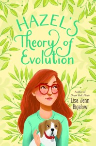 Cover for Hazel's Theory of Evolution by Lisa Jenn Bigelow