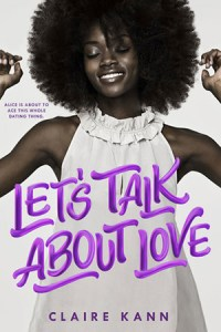Cover for Let's Talk about Love by Claire Kann