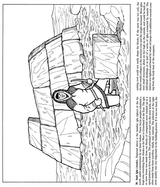 Iroquois coloring pages