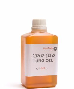 Pure Tung Oil, 500 ml, High-quality natural oil for indoor and outdoor use