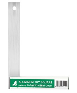 aluminum try square shinwa