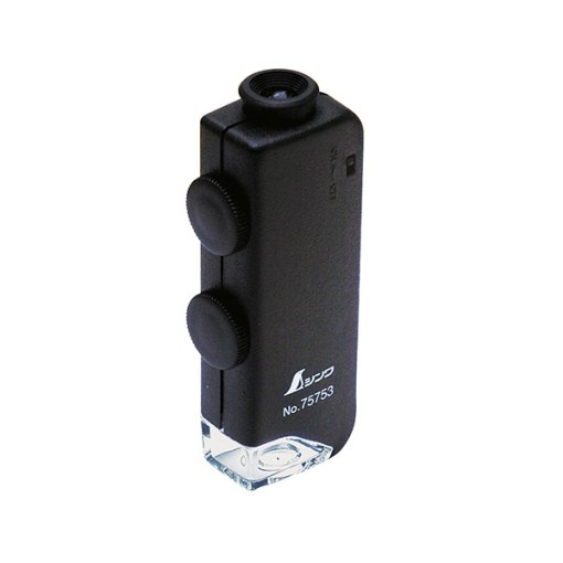 Shinwa Pocket Microscope, 60x-100x Magnification