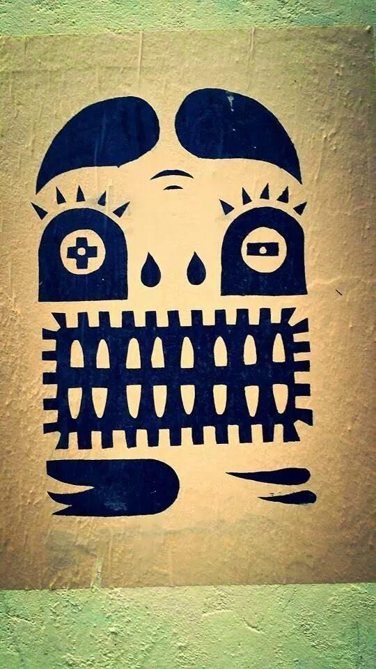 Graffiti artist: Monsu Plin