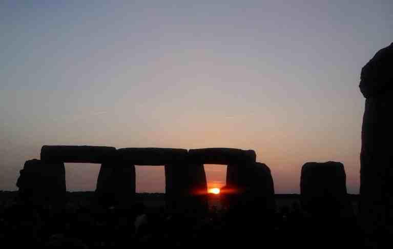 Solstizio d'estate a stonehenge
