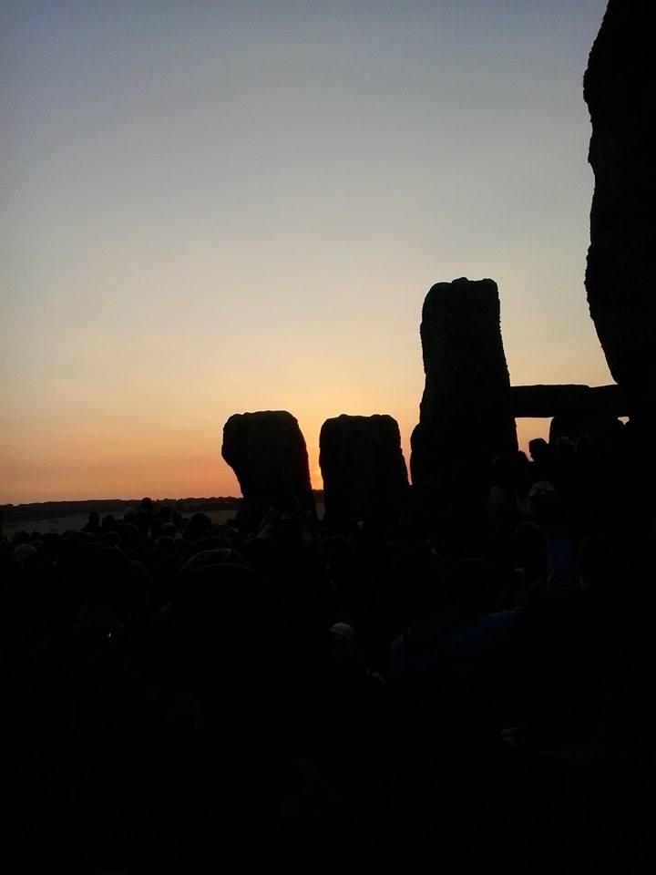 stonehenge and the sky