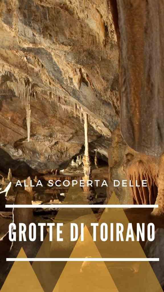 Grotte di Toirano - Pinterest image