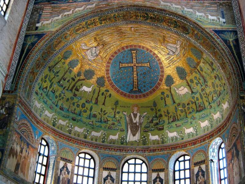 Mosaici dell'abside di Sant'Apollinare in Classe