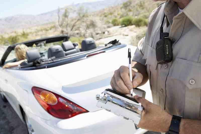 American police fine