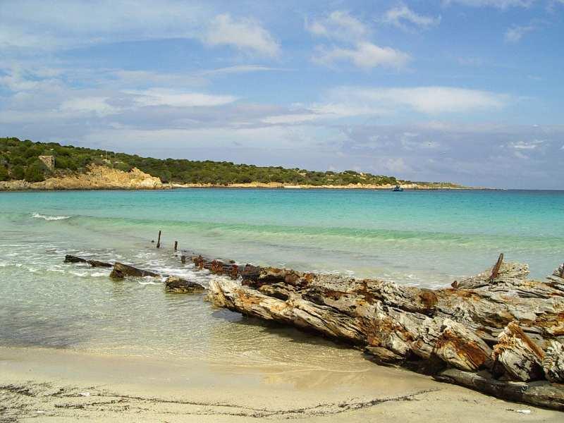 Spiaggia del Relitto Caprera