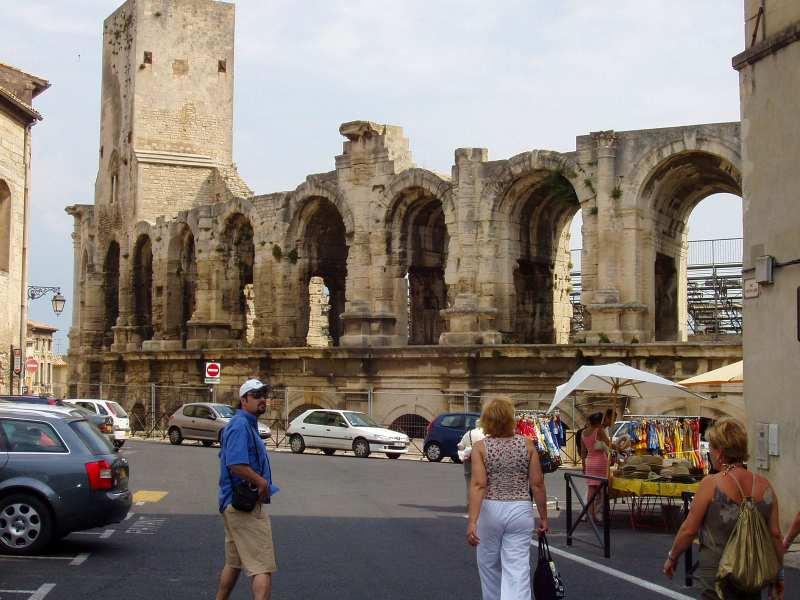 Arles anfiteatro