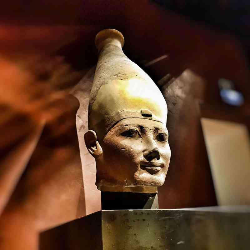 Museo egizio Torino testa
