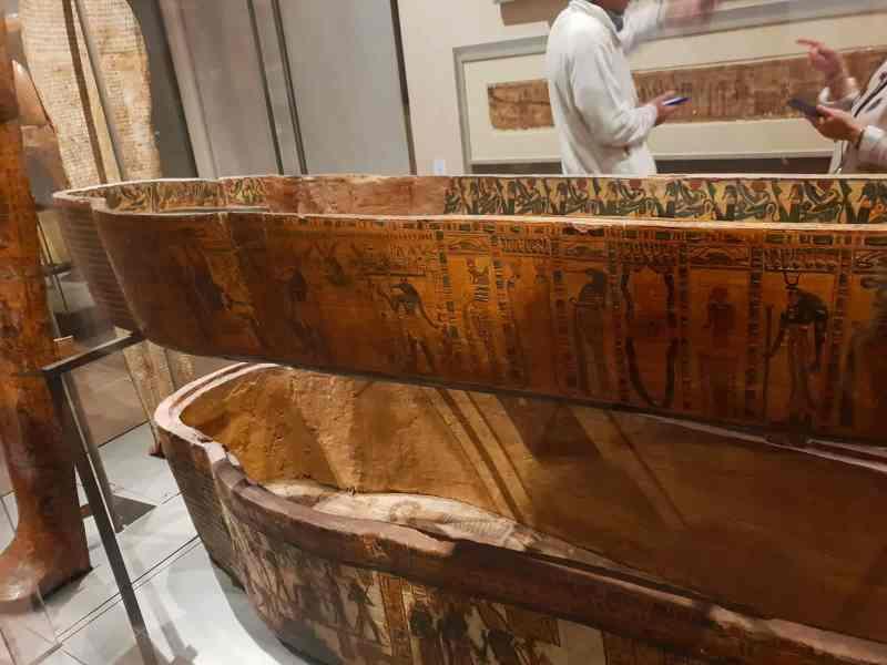 Museo egizio sarcofago