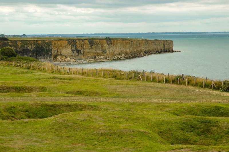 Pointe du Hoc landing in Normandy