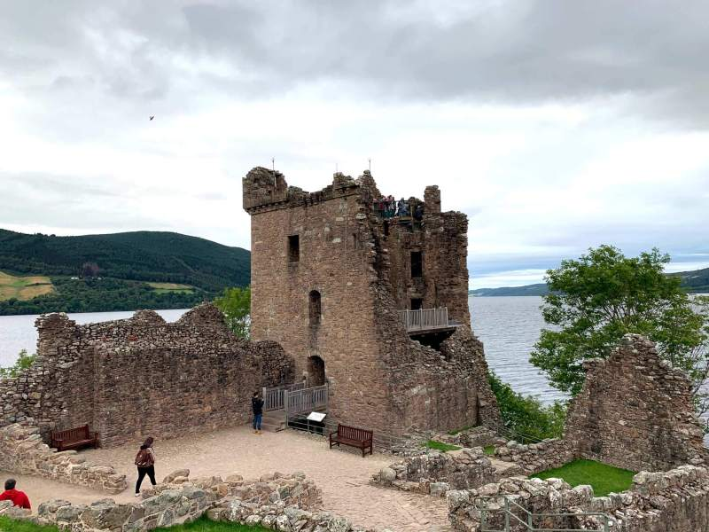 Urqhart Castle Tower