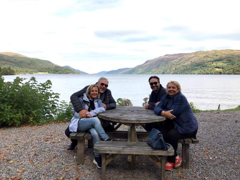 Lunch on Lake Lochness