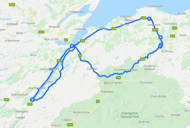 Tour of Scotland - fifth day
