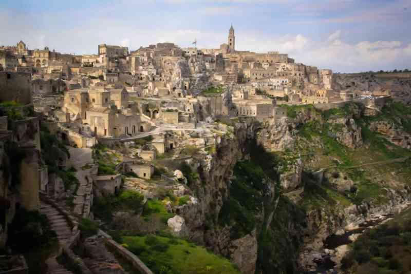 Sassi di Matera Patrimonio Unesco