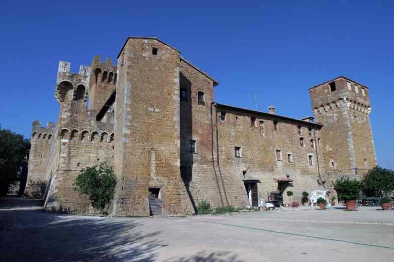 Castello di Spedaletto Pienza
