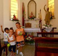 dentro la chiesetta