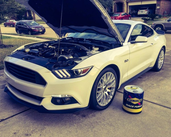 ProCharged Mustang Sunoco 260 GT Plus Race Fuel