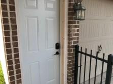 Shiny new door!