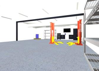 Dream Garage Rendering