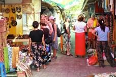 Nákupy na Bali