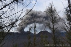 Erupce sopky Bromo