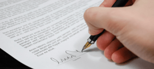 Lease, employment agreement