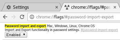 Chrome flag screenshot