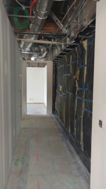 Temporary Wall- Construction Side