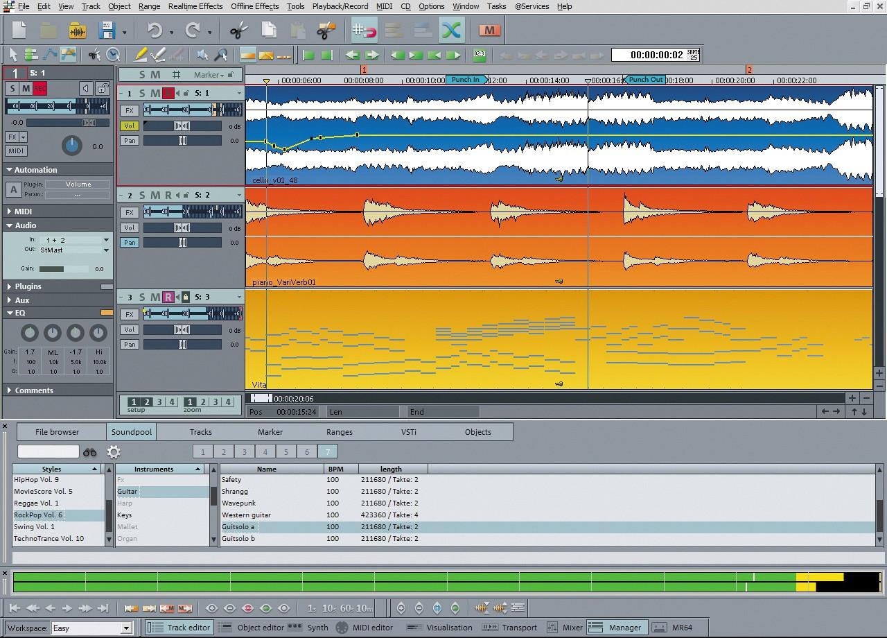 MAGIX Samplitude Music Studio 2021 v26.0.0.12 With Full Crack