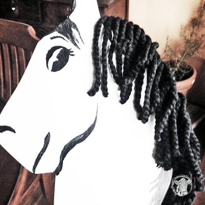 DIY Vintage Stick Horse