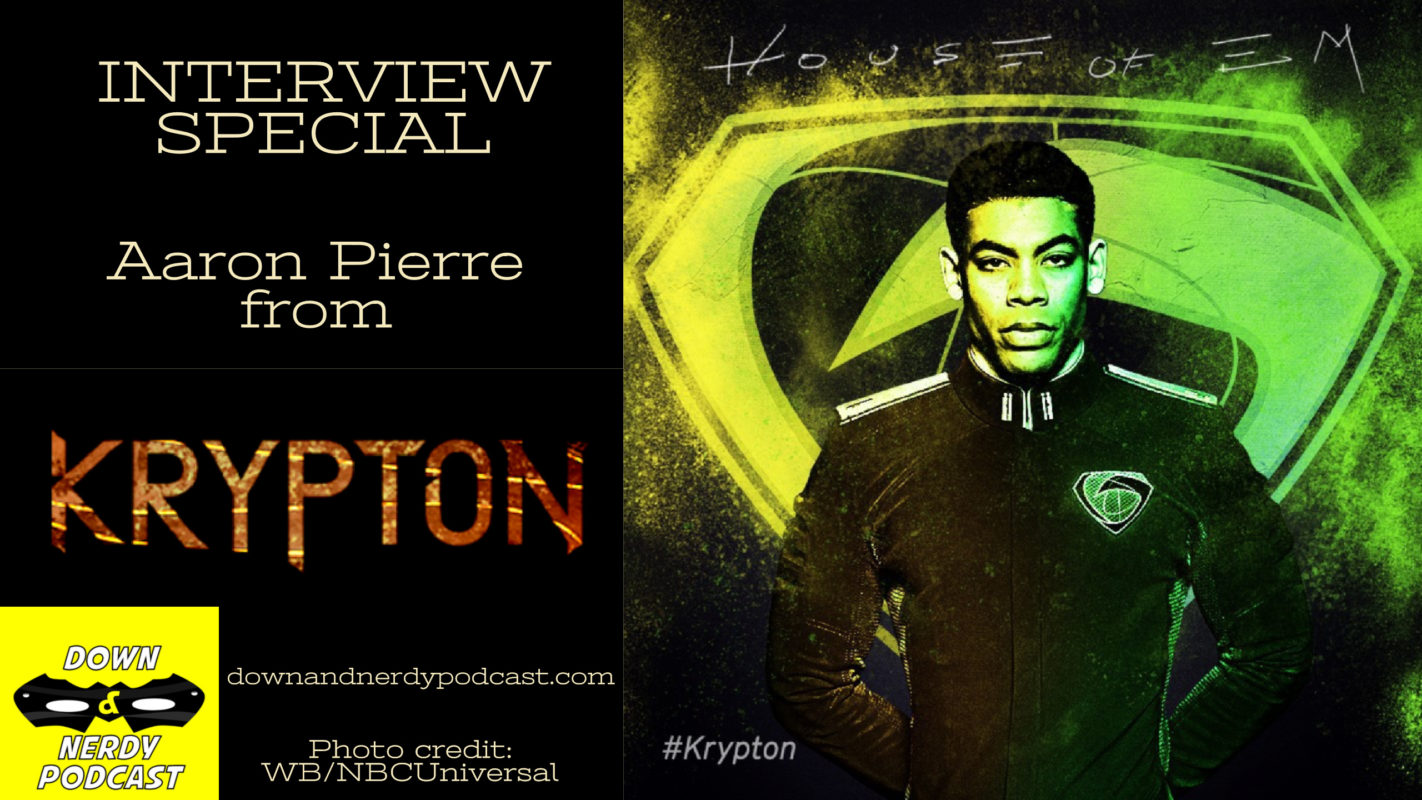Aaron Pierre / Krpton Interview Special