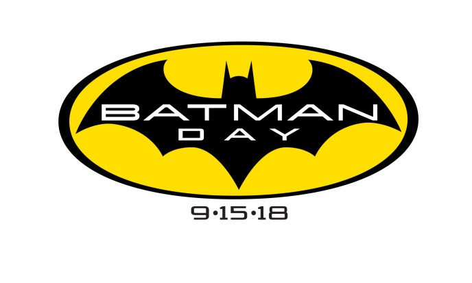 Batman Day Logo 2018